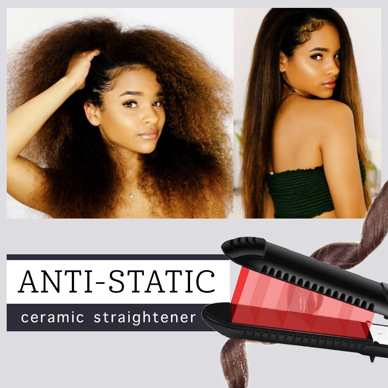 Anti-Static Ceramic Straightener