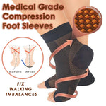 Medical Grade Compression Foot Sleeves