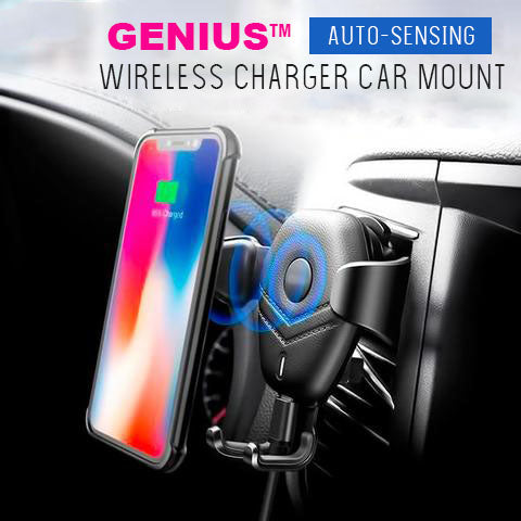 GENIUS™ The Ultimate Wireless Charger Car Mount