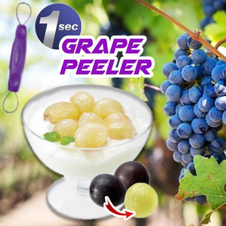 1-Second Grape Peeler