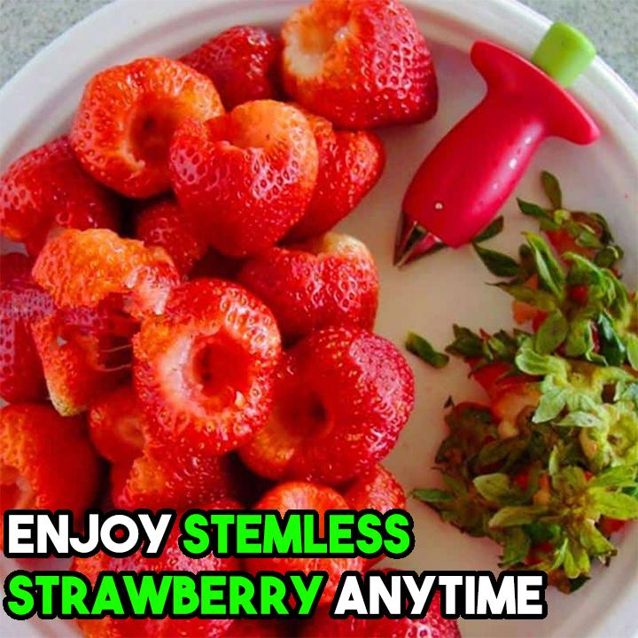 1-SEC Strawberry Stem Remover