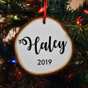 2019 Name Ornament