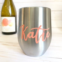 Load image into Gallery viewer, Personalized Wine Tumbler