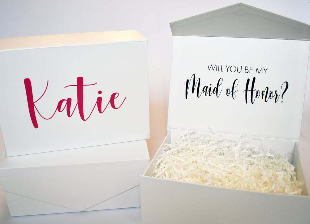 Keepsake Bridesmaid Box