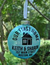 Load image into Gallery viewer, Our First Home Christmas Ornament