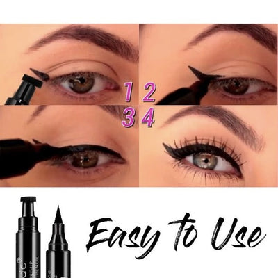 【BUY 2 FREE SHIPPING & EXTRA 10% OFF】Catgirl Flick Dual-End Eyeliner - worthbuyonline