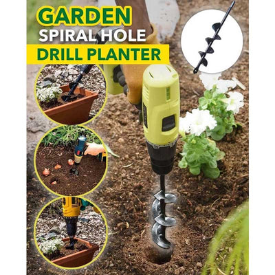 Garden Spiral Hole Drill Planter - buy 2 get extra 10% off - worthbuyonline