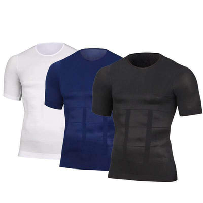【buy 2 get extra 10% OFF+FREE SHIPPING】Body Build Compression Men Shirt - worthbuyonline