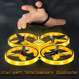[On Sale] Smart watch controllable interactive induction quadcopter - worthbuyonline