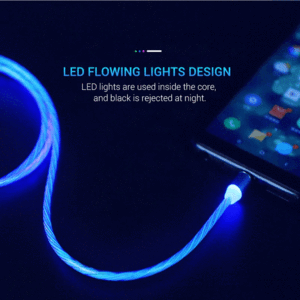 LED Magnetic 3 in 1 USB Charging Cable - worthbuyonline