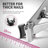 (SUMMER HOT SALE - SAVE 50% OFF) Nail Clippers For Thick Nails-BUY 2 FREE SHIPPING