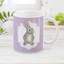 Load image into Gallery viewer, Rustic Purple Rabbit Mug at Amy's Coffee Mug