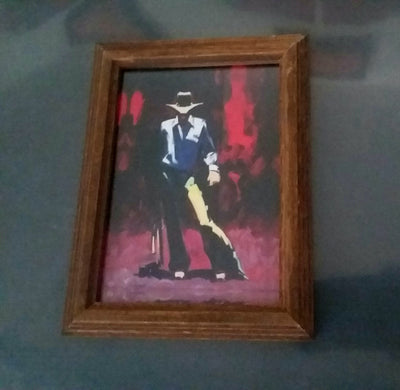 Hugh Cabot Great American Cowboy© 30×22 Lithograph and 5x7 Miniature