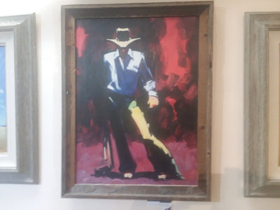 - Hugh Cabot Great American Cowboy© 24×18 Giclee on Canvas
