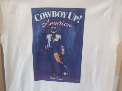 Hugh Cabot Cowboy UP! America Available in White and Various Colors
