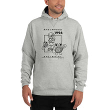 Load image into Gallery viewer, Holiwhirl 1996 | Light Steel Champion Hoodie
