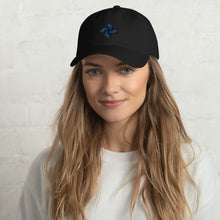 Load image into Gallery viewer, Ex Oblivione | Blue Logo Cap