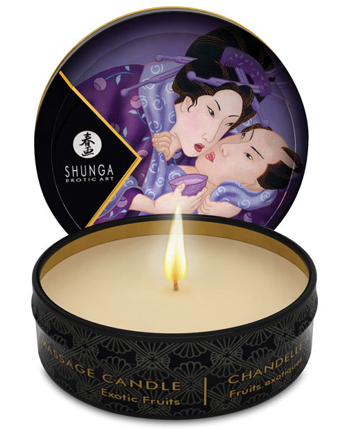 Libido Mini Candlelight Massage Candle Exotic Fruits