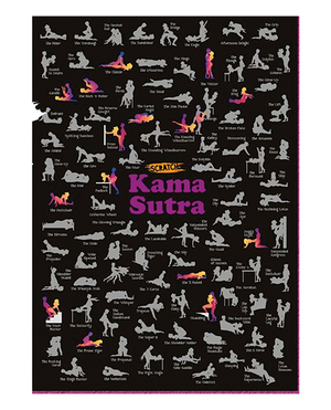 Scratch off Kama Sutra Poster