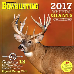2017 Peterson Bowhunting Calendar