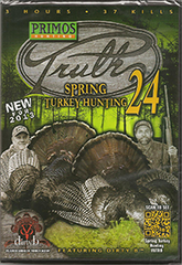 Primos Truth 24 Spring Turkey DVD