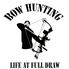 Bowhunter Full Draw Decal