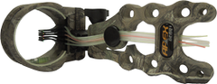 Accu Strike Pro 5 Pin XTR Camo Sight w/Light