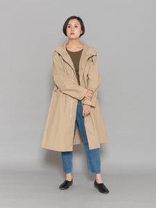 <EVER AFTER>HOODED LONG COAT
