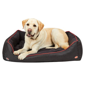 Therapy-Tec Dog Bed - Black/Red