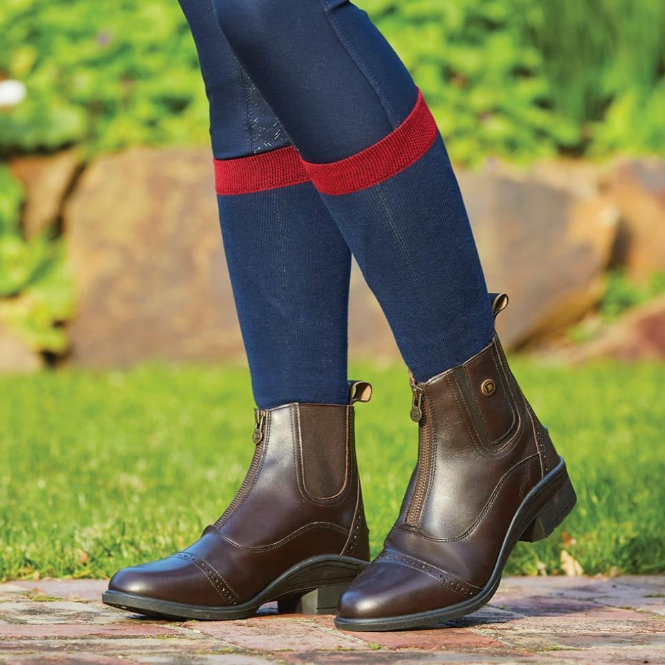 Dublin - Rapture Zip Front Women's Paddock Boots - Brown
