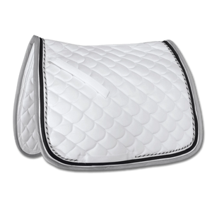 Waldhausen - All Purpose Saddle Pad Rom - White/Grey