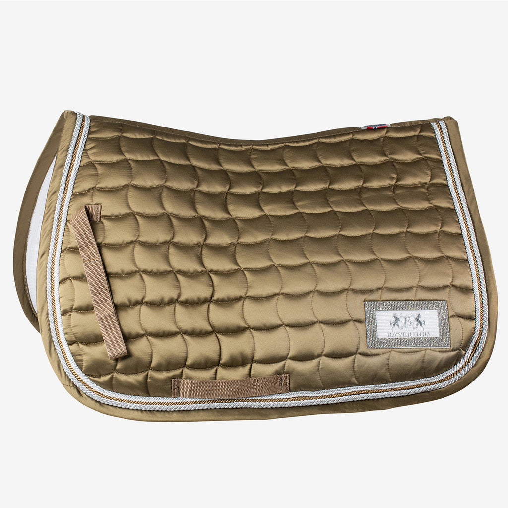 Horze - Vermont All Purpose Saddle Pad - Brown