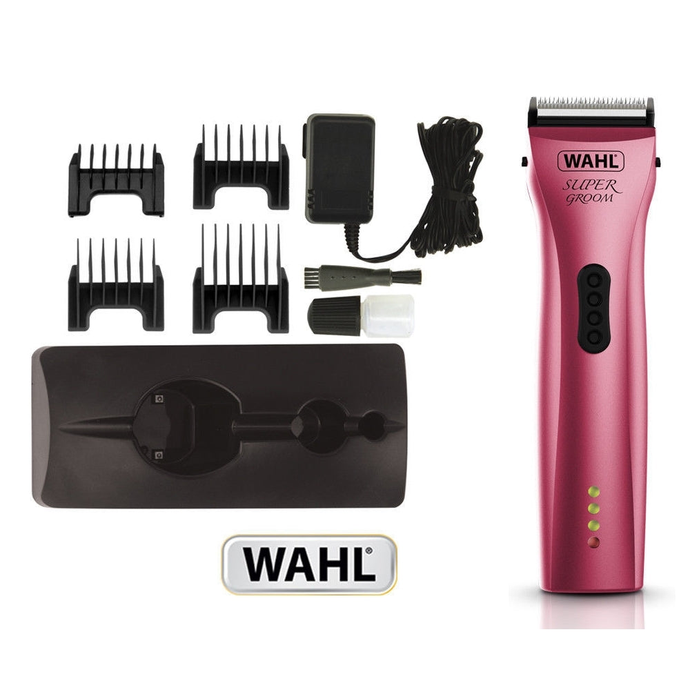 Wahl - Supergroom Trimmer - Pink