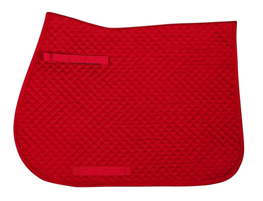 QHP - All Purpose Saddle Pad - Red