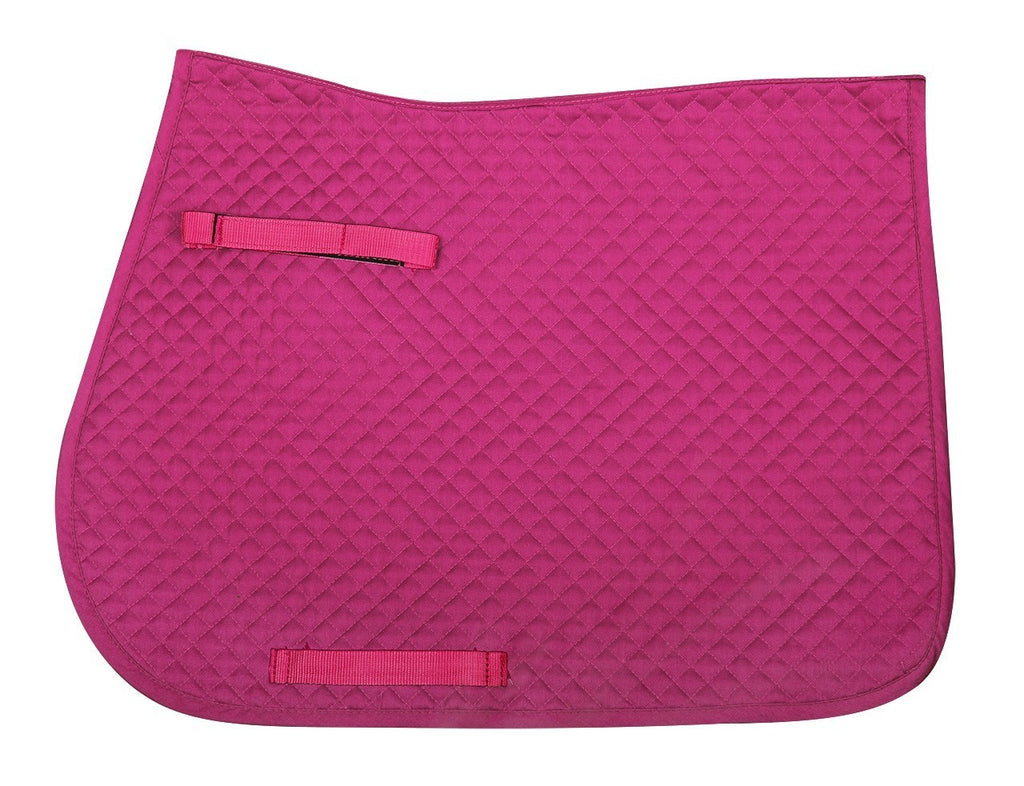 QHP - All Purpose Saddle Pad - Fuchsia