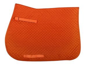 QHP - All Purpose Saddle Pad - Orange
