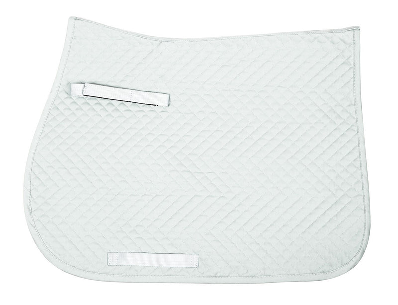 QHP - All Purpose Saddle Pad - White