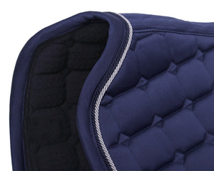 QHP - Dressage Saddle Pad Glitz - Navy