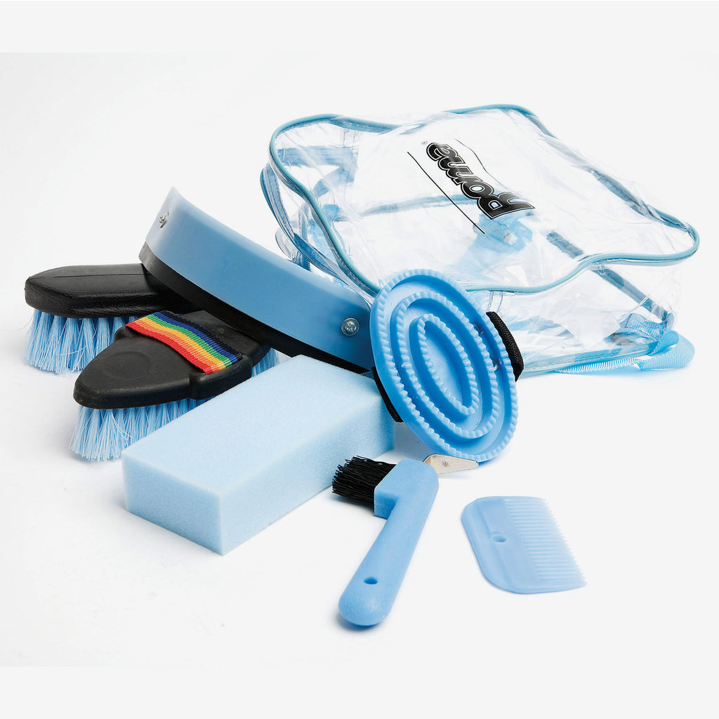 Roma - Backpack Grooming Kit 7 piece - Blue