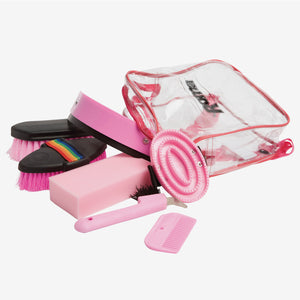 Roma - Backpack Grooming Kit 7 piece - Pink