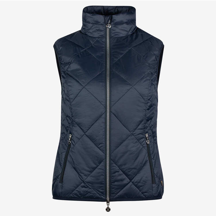 Horze - Women's Martina Lightweight Padded Vest - Navy