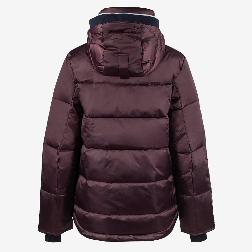 B Vertigo Kennedy Unisex Down Jacket - Vineyard Wine