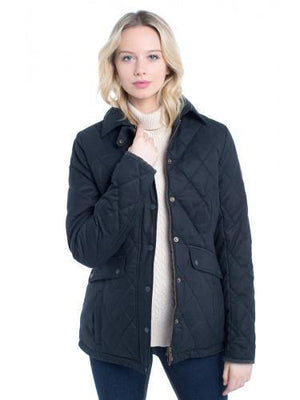 Heaney Quilted Jacket - Verdigris