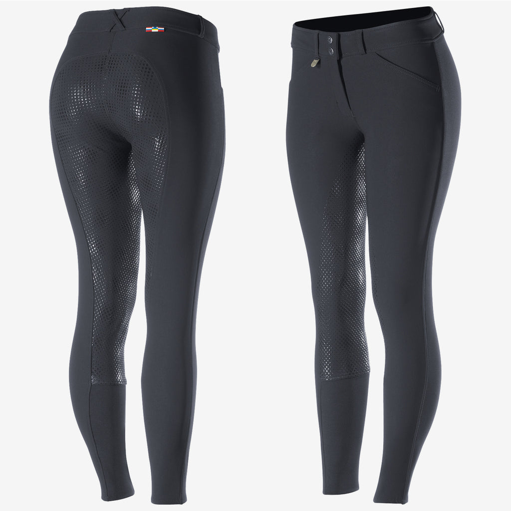 Grand Prix Women's Full Seat Breeches - Navy