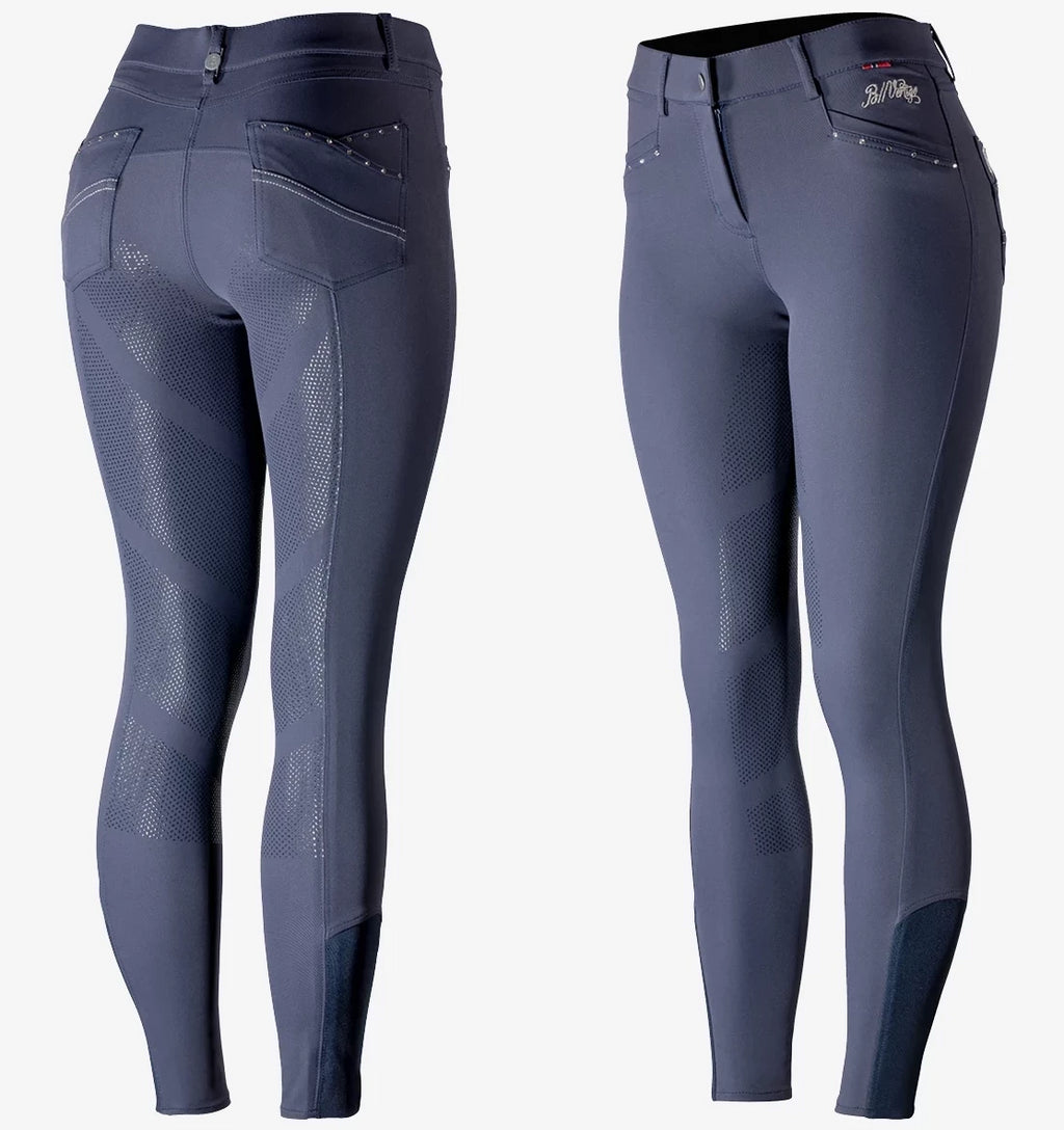 Olivia Women's Silicone Full Seat Breeches - Navy