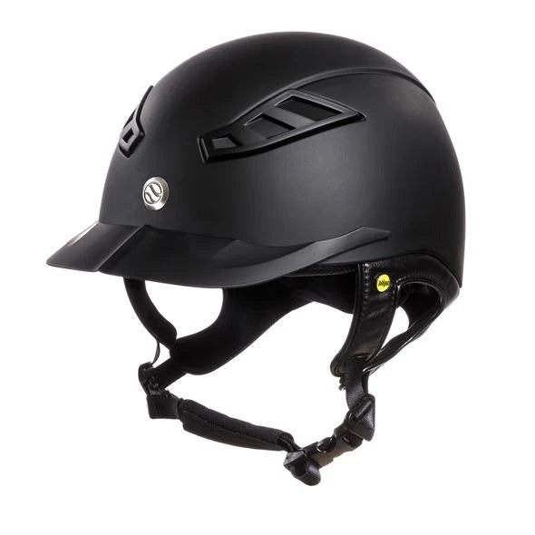 Back On Track - EQ3 Lynx Smooth Top Helmet - Black