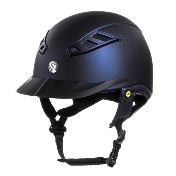 Back On Track - EQ3 Lynx Smooth Top Helmet - Blue