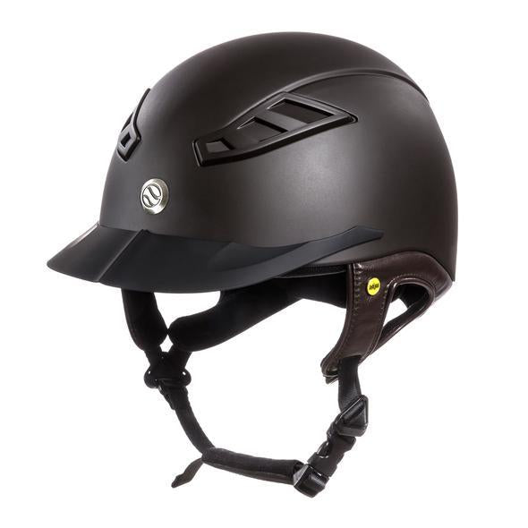 EQ3 Lynx Smooth Top Helmet - Brown