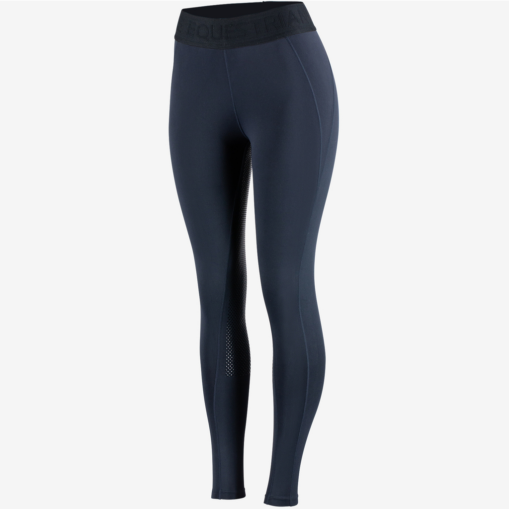 Horze - Madison Women's Silicone F/S Tights - Navy