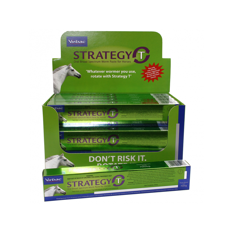 Virbac - Strategy-T Broad Spectrum Wormer